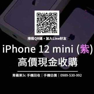 紫色iphone12 mini