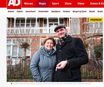 Interview met het Algemeen Dagblad