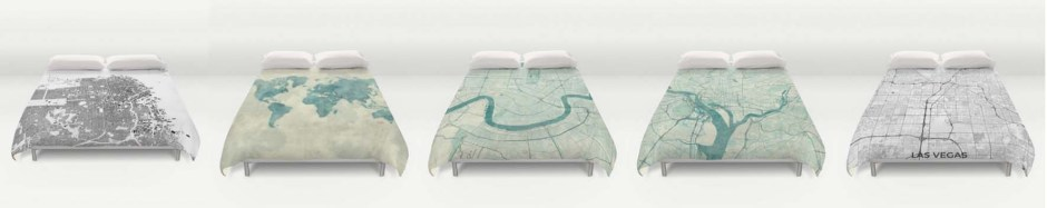Duvet Cover Map