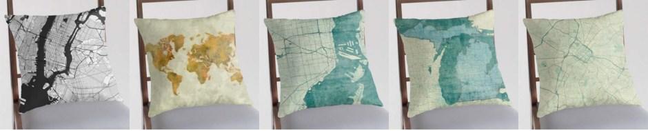 Pillow Map