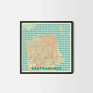 San Francisco City Prints