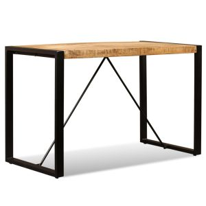 Valgomojo stalas, masyvi mango mediena, 180cm