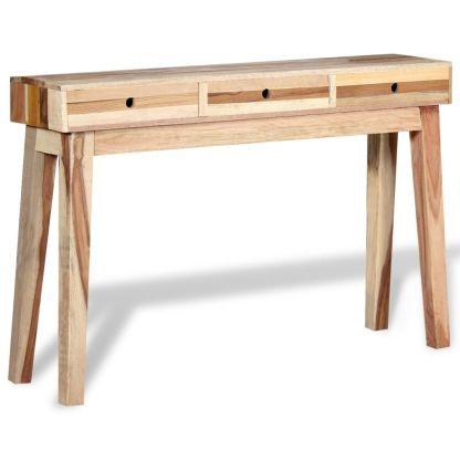 vidaXL Konsolinis staliukas, tvirta perdirbta mediena