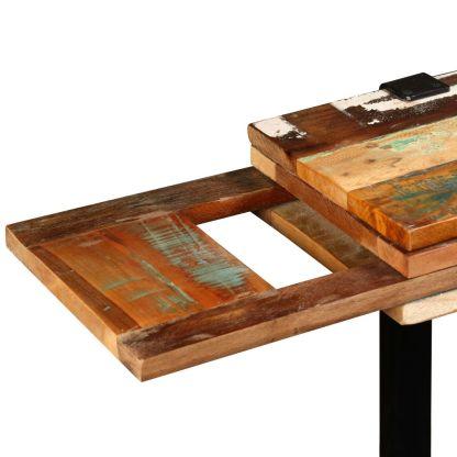 Konsolinis staliukas, tvirta perdirbta mediena, reguliuojamas