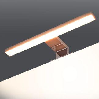 vidaXL Veidrodinis šviestuvas, 5 W, šiltos baltos spalvos