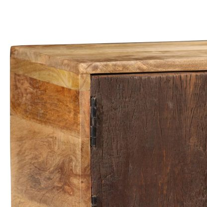 Šoninė spintelė, masyvi mango mediena, 140x30x80cm