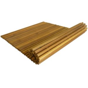 Vonios kilimėlis, akacijos mediena, 80 x 50 cm