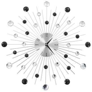 vidaXL Sieninis laikrodis su kvarciniu mechanizmu, 50cm, modern. diz.