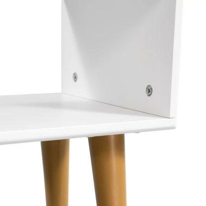 Naktinis staliukas, masyvi akacijos mediena, 40x30x45cm