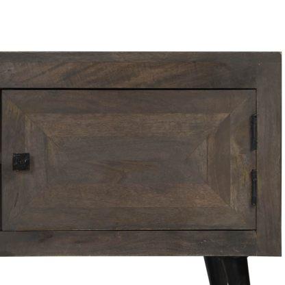 TV spintelė, masyvi mango mediena, 140x30x45cm