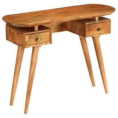 Konsolinis staliukas, 100x35x75cm, akacijos medienos masyvas