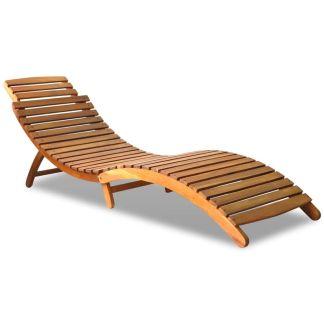 vidaXL Gultas, tvirta akacijos mediena