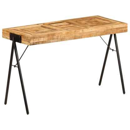 vidaXL Rašomasis stalas, 118x50x75cm, mango medienos masyvas