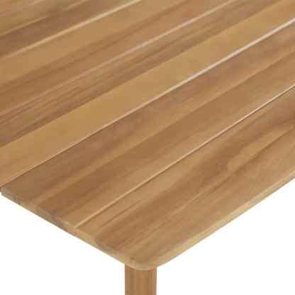 Baro stalas, akacijos medienos masyvas, 60x60x105cm
