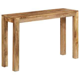 vidaXL Konsolinis staliukas, 118x35x76cm, mango medienos masyvas