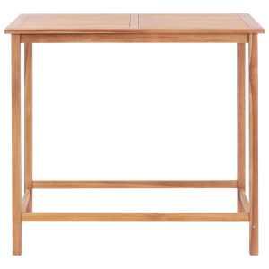 Lauko baro stalas, 120x65x110 cm, tikmedžio med. masyvas