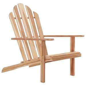 vidaXL Adirondack kėdė, tikmedžio mediena