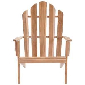Adirondack kėdė, tikmedžio mediena