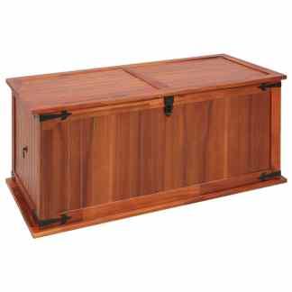 vidaXL Daiktadėžė, 79x34x32cm, akacijos medienos masyvas