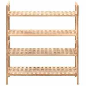 Batų lentyna, riešutmedžio medienos masyvas, 69x26x81cm