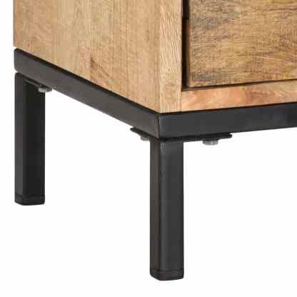 TV spintelė, 130x30x45cm, mango medienos masyvas