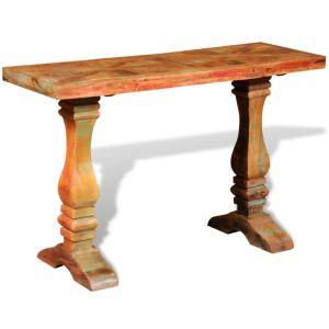 Konsolinis staliukas, masyvi perdirbta mediena