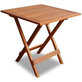 vidaXL Lauko kavos staliukas iš akacijos medienos