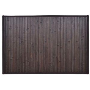 Bambukinis Vonios Kilimėlis, 60 x 90 cm, Tamsiai Rudas