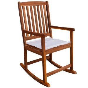 vidaXL Supamoji sodo kėdė, akacijos mediena