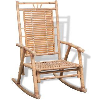 vidaXL Supamoji kėdė, bambukas