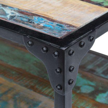 Perdirbtos medienos kavos staliukas