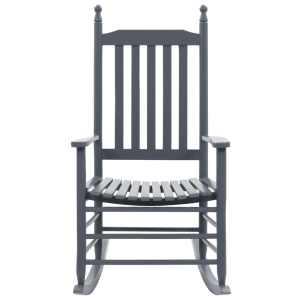 Supama kėdė su išlenkta sėdyne, pilka, mediena