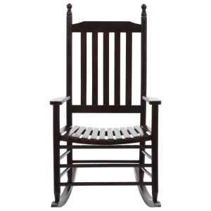 Supama kėdė su išlenkta sėdyne, ruda, mediena
