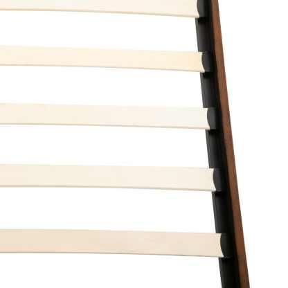 Lova su čiužiniu Memory, 140×200 cm, dirbtinė versta oda