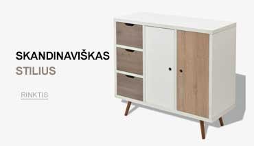 skandinaviško stiliaus baldai