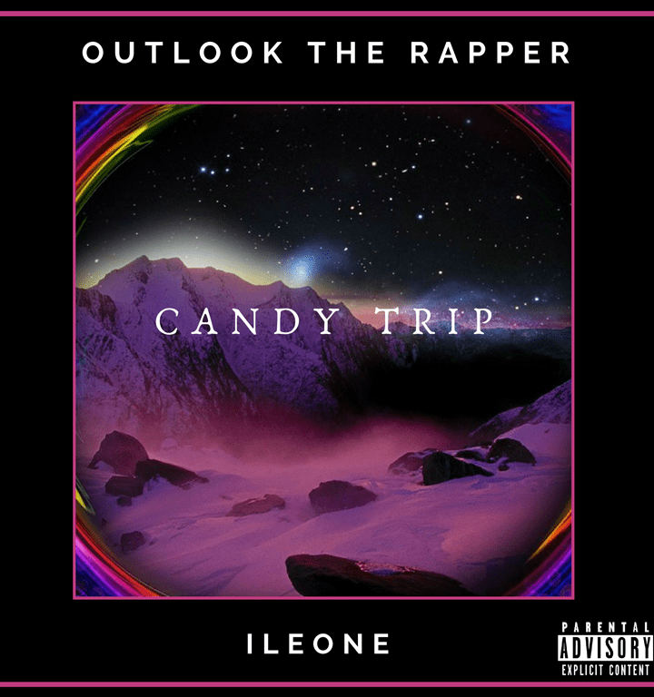The unlikely duo of 'ILEONE' and 'Outlook the Rapper' pairs trap with conscious hip hop to create their own unique sound with 'Candy Trip'