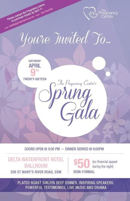 preg centre spring gala 2016