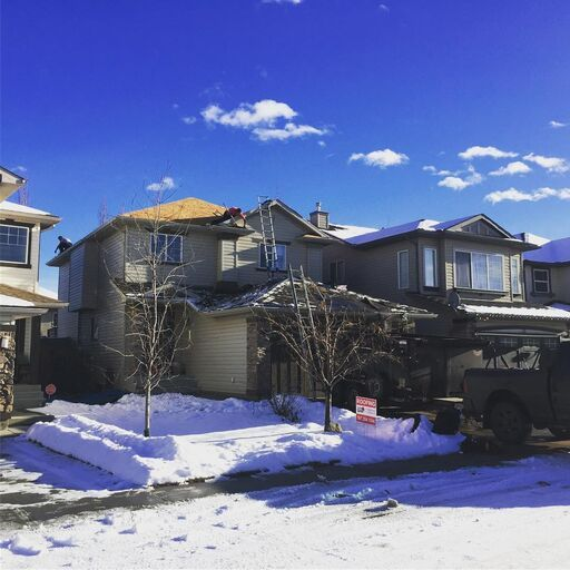 early sprin roofing in Calgary