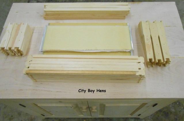 Making Some Honey Bee Frames