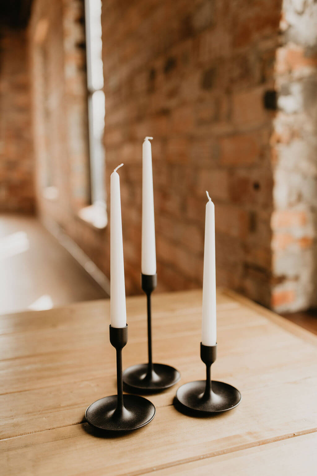 3 candlesticks