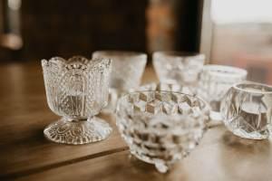 clear bowls