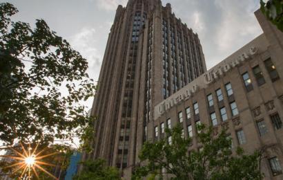 Developer acquires Tribune Tower