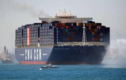 CMA CGM Strengthens Asia-Red Sea Service