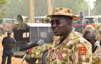 FG canvasses support for victorious troops