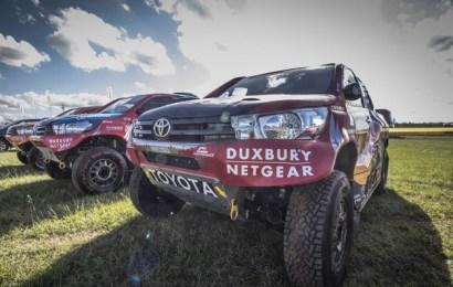Dakar 2017: Team Toyota wins opening stage