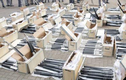 Importation of Rifles: Customs declares senior officials wanted