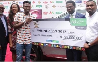 Heritage Bank, DSTV present N25m, SUV to BB Naija winner