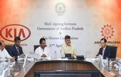 Kia plans $1.1 billion plant in India