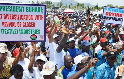 FG pledges speedy passage of new wage bill as workers demand N65,000  minimum montly salary
