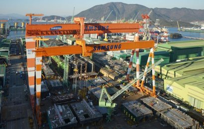 Samsung wins conditional deal for vessel pair